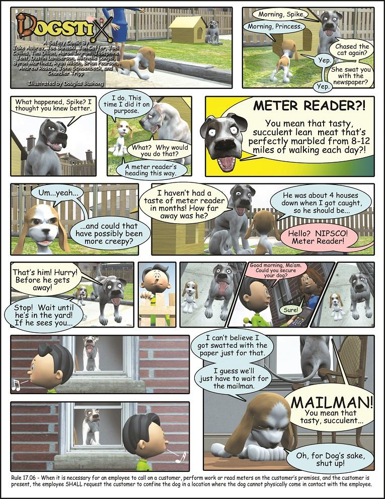 Comic: Dogstix